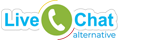 Live Chat Alternative official logo header 24bit