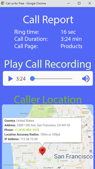 Call Recording and monitoring Live Chat Alternative