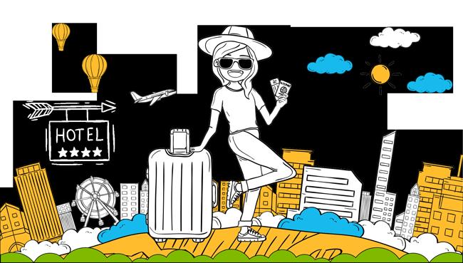 woman travel hotel live chat alternative